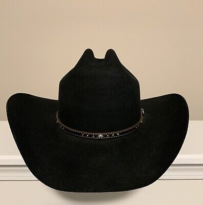 fc00e366f0432 JUSTIN WOOL FELT Cowboy Hat by Milano Hat Co Rodeo western hat size ...