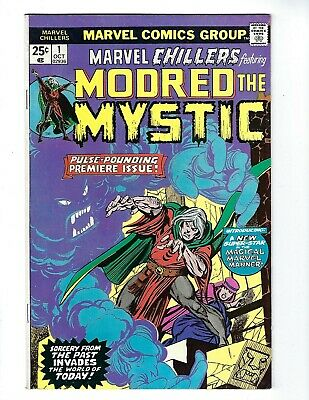 MARVEL CHILLERS # 1 (MODRED The MYSTIC, OCT 1975), VF