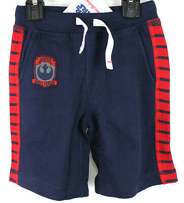 Hanna Andersson Star Wars Shorts Navy Red Chewy Millenium Falcon Size 100 4 NWT