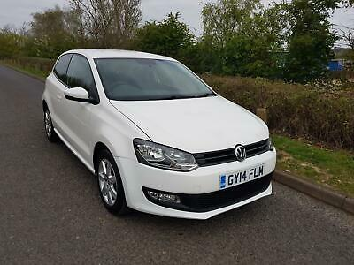 2014 Volkswagen Polo 1.2 70ps Match Edition ONLY 47,933 MILES, VWSH