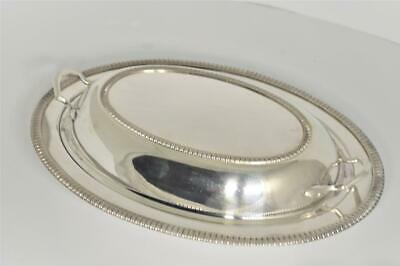 Vintage Crescent Silver Mfg Co. Silverplate Covered Serving Dish Bowl #3357