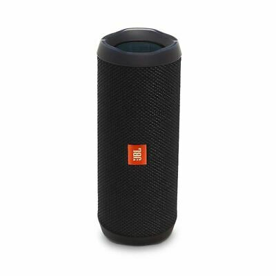 JBL Flip 4 Portable Waterproof Bluetooth Speaker (Black)