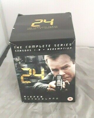 24 The Complete Series 1-8 DVD, 2011
