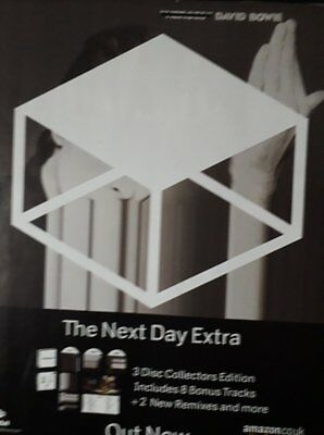 David Bowie - The Next Day - Laminated A4 Poster