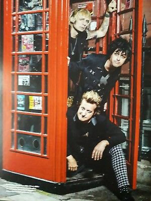 Green Day, London, 2012 - Laminated A4 Poster