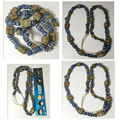 Very old mosaic glass beads string