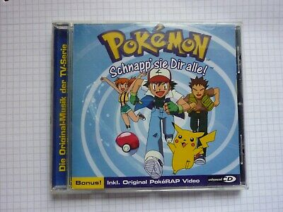 CD Pokemon - Schnapp sie Dir alle! Soundtrack zur TV Serie 2004 Koch Records