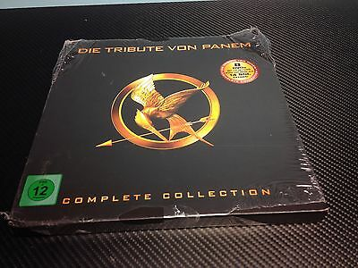 The Hunger Games Complete Collection Limited Numbered NEW DVD Import Region 2