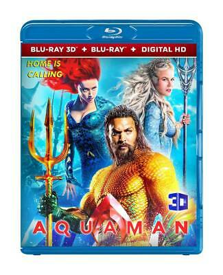 Aquaman (Blu-Ray 3D Disc + Digital Hd Format) Region Free