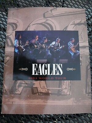 The Eagles World Tour Concert Program 1994 Don Henley  Glenn Frey  Joe Walsh