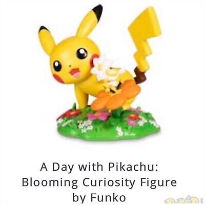 Funko Pop! Blooming Curiosity Pokemon A Day With Pikachu Vinyl Figure Preorder
