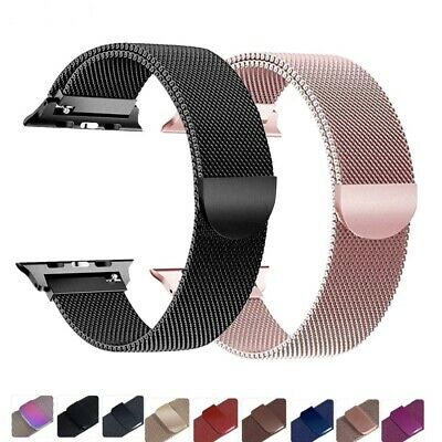 Milanese Loop For Apple iWatch Bracelet Belt Wrist Band Magnetic Watch Band TOP