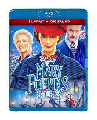 Mary Poppins Returns (Blu-Ray 2D Disc + Digital Hd Format) Region Free