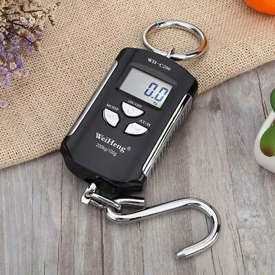200kg/100g Mini LCD Hanging Digital Electronic Crane Scale With Hook