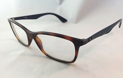 b1946f34b9799 Ray Ban Tortoise Brown   Black Eyeglasses RB7047 56-17 145 RX For Parts Only