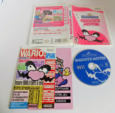 WarioWare: Smooth Moves complete great shape (Nintendo Wii, 2007)