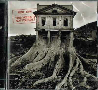 BON JOVI - This house is not for sale ( 12 track cd / Brand new & sealed)