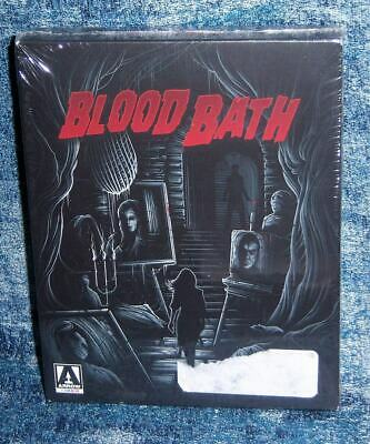 New Arrow Video Blood Bath Limited Edition Horror 2 Disc Blu Ray Movie 1963