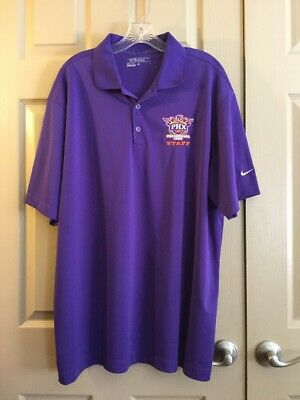 new arrival 7eaa2 6933a Nike Golf Dri Fit Phx Suns Basketball Camp Staff Polo Size XL