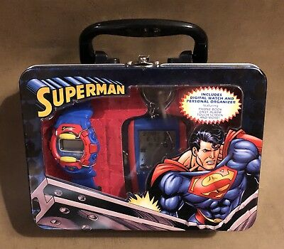 Superman Digital Watch And Personal Organizer