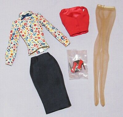 Outfit & Shoes Only ~ Fashion Royalty Co-Ed Cutie Poppy Parker