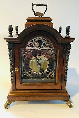 Rare Wuba Warmink Clock Shelf Mantel Dutch Design Vintage Antique Retro