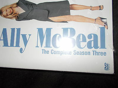 NEW SEALED 6 Disc Region 2 DVD Box Set Ally McBeal THE COMPLETE SEASON THREE 3
