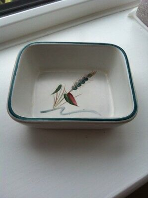Denby Greenwheat serving dish / Hors D'oeuvre dish