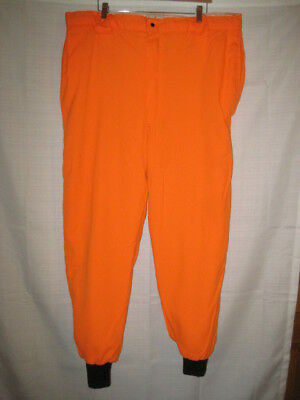 58a3484f26731 Insulated Blaze Orange Woodfield Deer Hunting Pants men's XL Made In USA