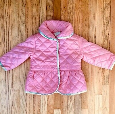 136ad37f6 NWT First Impressions Carter's Infant Baby Girl Pink Quilted Jacket Coat ...