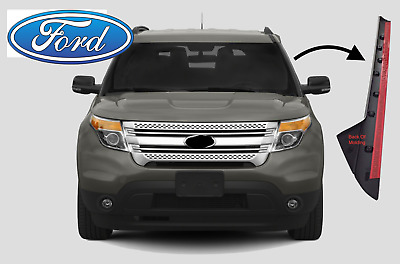 2011 to 2019 Ford Explorer Windshield Molding Outer Trim Pillar - Driver Side