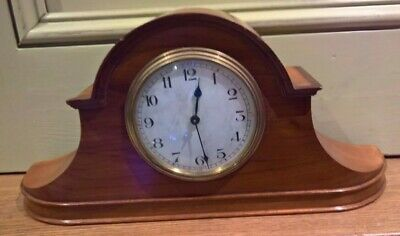 8 day French mahogany cased clock - working