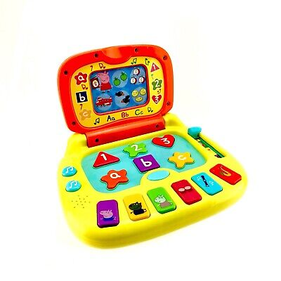 PEPPA PIG TOY Laugh & Learn Laptop Childs Electronic Computer Age 2+