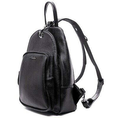 Women Backpack Purse, Small Shoulder Bag Lightweight School Travel PU Lea... NEW