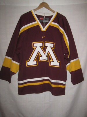 sports shoes cec4a 2d85a Minnesota Golden Gophers Nike Hockey Jersey men s S maroon