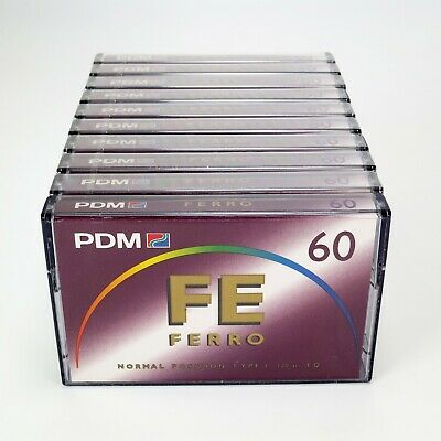 10 x PDM FE 60 Type I Normal Position Ferro - Factory Sealed - Made in Germany