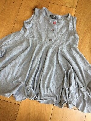 Limited Collection Girls Grey Mix. Loose Top Age 4-5 Yrs