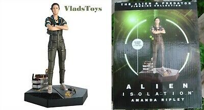 Eaglemoss 1/16 Alien & Predator Amanda Ripley Figurine Alien Isolation Issue 34