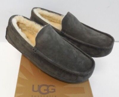 62fb76b999f UGG ASCOT TWEED Stout Sheepskin Slippers Moccasins Shoes Size Us 8 ...