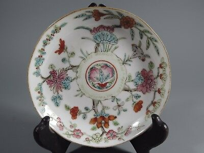 Rare China Chinese Porcelain Enamel plate Ming Dynasty Chenghua ca. 1465-1487 #5
