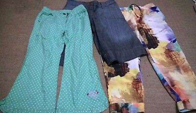 bundle girl clothes 6 years trousers culottes Next Whoopi green blue