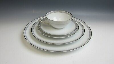 Noritake China SILVER KEY 5 Piece Place Settings MULTI AVAIL EXCELLENT