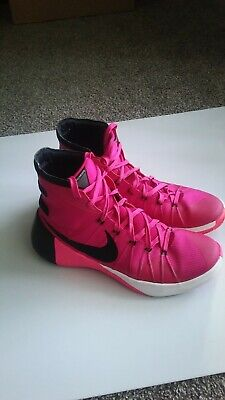huge selection of 0e08a e17c0 Nike Hyperdunk 2015 Pink Breast Cancer Think Pink 749561-606 Men s Size 9