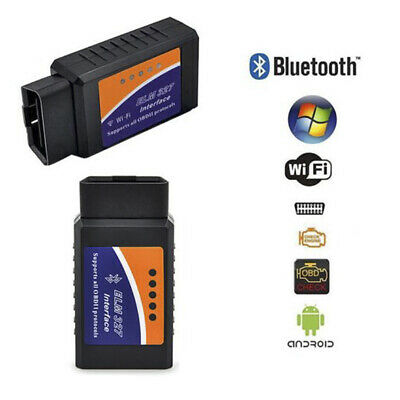 ELM327 Bluetooth OBD2 OBDII Car Diagnostic Scanner Code Reader Tool for IOS np