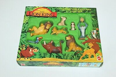 RARE Disney The Lion King Mattel Collector Figure Gift Set 66943 New In Box