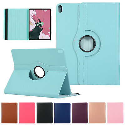 For iPad 2019 iPad Mini 5 Case 1 2 3 4 Smart 360° Rotating Stand Leather Cover