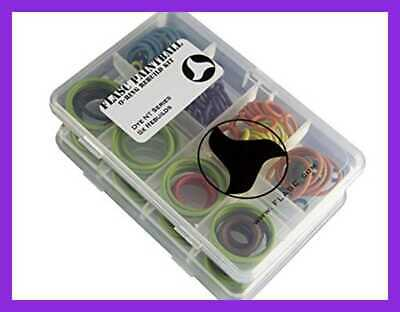 Dye NT 5X Color Coded Paintball O Ring Rebuild Kit By FREE SHIPPING