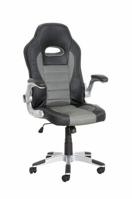 Chair Office Gaming John – Armchair Racing Pu Leather & Mesh, with High