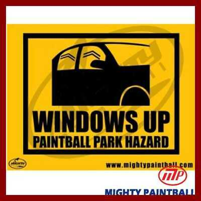 MP Windows Up Safety Sign Board FREE SHIPPING Sporting Goods