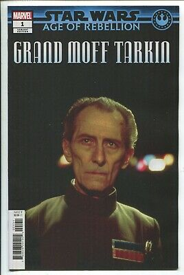 STAR WARS AOR GRAND MOFF TARKIN #1 MARVEL 2019 PUZZLE VARIANT COVER STOCK IMAGE